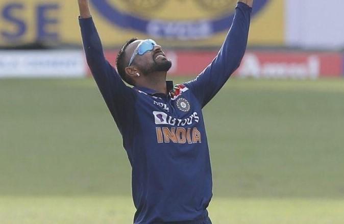 Krunal Pandya returns to India
